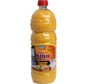 MOLHO DE ALHO COM PIMENTA - 900ML